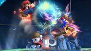 Aldeano atacando (1) SSB4 (Wii U).jpg