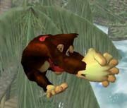 Ataque aéreo hacia adelante de Donkey Kong SSBM.png