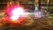 FG II - Graham disparando SSB4 (Wii U).JPG