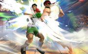 Ryu ataca a Little Mac SSB4 (Wii U).jpg