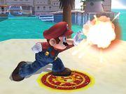 Ataque Smash lateral hacia arriba Mario SSBB.jpg