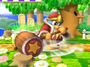 Ataque Smash inferior Rey Dedede SSBB.jpg