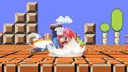 Ataque Smash hacia abajo de Mario (2) SSBU.jpg