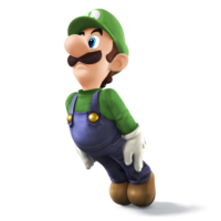 Art oficial de Luigi en Super Smash Bros. for Nintendo 3DS / Wii U