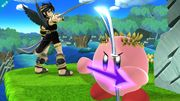 Kirby al haber copiado a Pit Sombrío SSB4 (Wii U).jpg