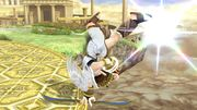 Ataque de recuperación desde el borde (1) Pit SSB4 Wii U.jpg