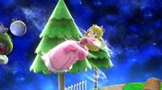 Ataque aéreo normal Peach SSB4 Wii U.jpg