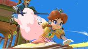 Daisy y Link en el Tren de los Dioses SSBU.jpg