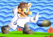 Doctor Mario usando Megavitaminas SSBM.png