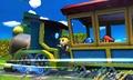 Pic of the day 21 de junio de 2013, mostrando el Tren de los Dioses SSB4 (3DS).jpg