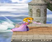 Ataque de recuperación desde el borde 100% de Zelda SSBM.png