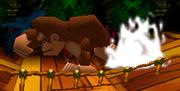 Donkey Kong usando Puñetazo gigantesco (2) SSB.png