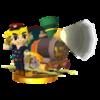 Trofeo de Link (maquinista) SSB4 (3DS).png