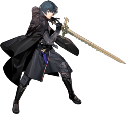 Art oficial de Byleth (hombre) en Fire Emblem: Three Houses