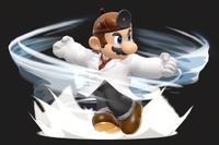 Vista previa de Dr. Tornado en la sección de Técnicas de Super Smash Bros. Ultimate