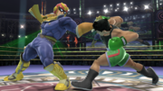 Captain Falcon y Little Mac en el Cuadrilátero SSB4 (Wii U).png