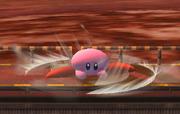 Ataque Smash hacia abajo Kirby SSBB.png