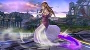 Ataque Smash Hacia Abajo Zelda SSB4 Wii U.jpg