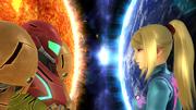 Créditos Modo Senda del guerrero Samus Zero SSB4 (Wii U).png