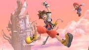 Sora y Mario en Bastión Hueco SSBU.jpg