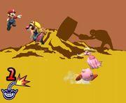 Prueba ¡Salta! de WarioWare SSBB.jpg
