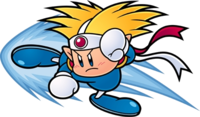Art oficial de Knuckle Joe en Kirby Super Star Ultra.