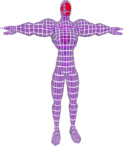 Pose T Fighting Wire Frame Male (SSBM).png