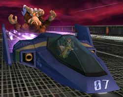 Blue Falcon en Super Smash Bros. Brawl