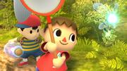 Créditos Modo Senda del guerrero Aldeano SSB4 (Wii U).png