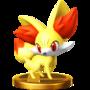 Trofeo de Fennekin SSB4 (Wii U).png