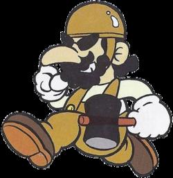 Arte oficial de Foreman Spike en Wrecking Crew.