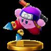 Trofeo de Kirby Ninja SSB4 (Wii U).png