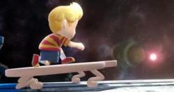 Entrada de Lucas en Super Smash Bros. para Wii U.