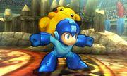 Mega Man y Pikachu en el Coliseo de Regna Ferox SSB4 (3DS).jpg