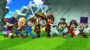 Créditos Modo Leyendas de la lucha Luchador Mii SSB4 (Wii U).png