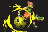 Vista previa de Cambio de puño en la sección de Técnicas de Super Smash Bros. Ultimate