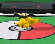 Ataque fuerte lateral de Pikachu SSBM.png