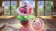 Planta Piraña y Jigglypuff en la Casa rural SSBU.jpg