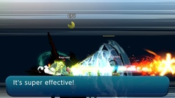 Remate triple en Super Smash Bros. Ultimate