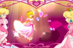 Vista previa de Flor de melocotón en la sección de Técnicas de Super Smash Bros. Ultimate