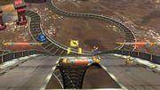 Captain Falcon, Fox y Megaman en Port Town Aero Dive SSB4 (Wii U).jpg