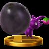 Trofeo de Pikmin morado SSB4 (Wii U).png