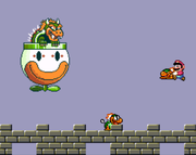 Mechakoopas lanzados por Bowser Super Mario World.png