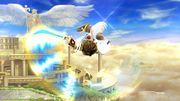 Ataque aéreo hacia abajo Pit SSB4 Wii U.jpg