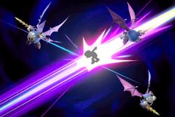 Vista previa de Espejismo oscuro en la sección de Técnicas de Super Smash Bros. Ultimate