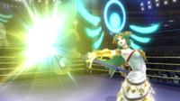 Palutena utilizando Contrataque en Super Smash Bros. para Wii U