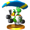 Trofeo de Yoshi (Huevomóvil) SSB4 (3DS).png