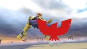 Pose de victoria de Captain Falcon (3-1) SSB4 (Wii U).png