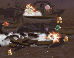Ejército Waddle Dee en Super Smash Bros. Brawl