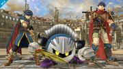 Meta Knight junto a Ike y Marth SSB4 (Wii U).png